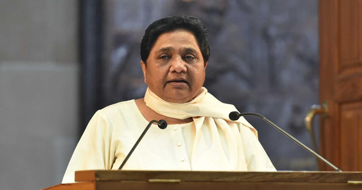 Election watch: Mayawati alleges Narendra Modi converted to OBC for political gains