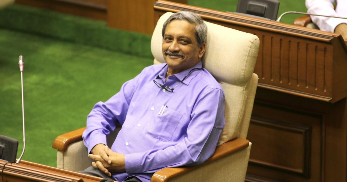 Goa: 'Stop politicising Manohar Parrikar's ill-health,' BJP tells Congress