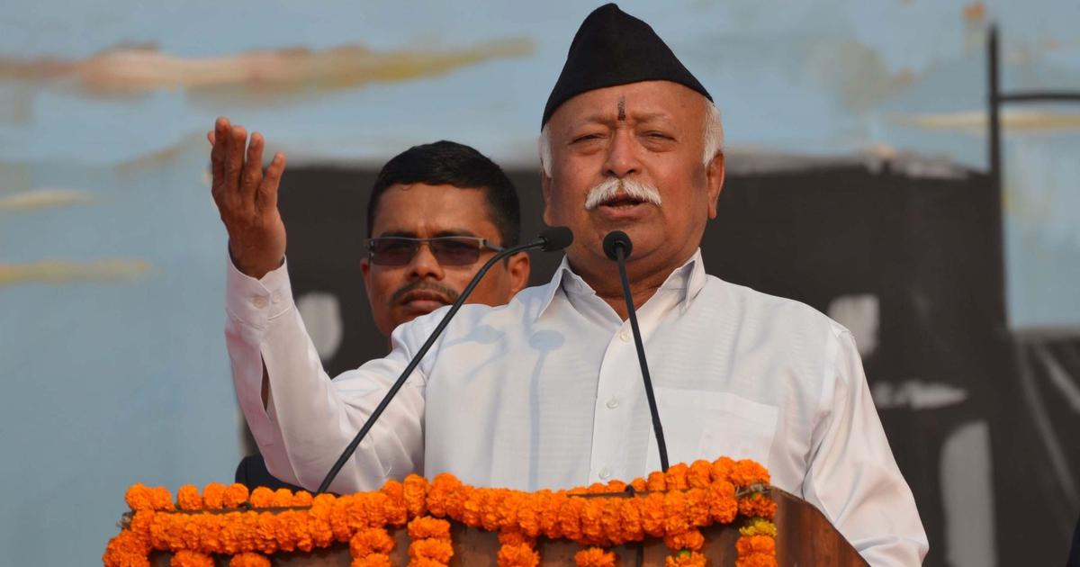 A person is not a Hindu if he says Muslims should not live in India: RSS chief