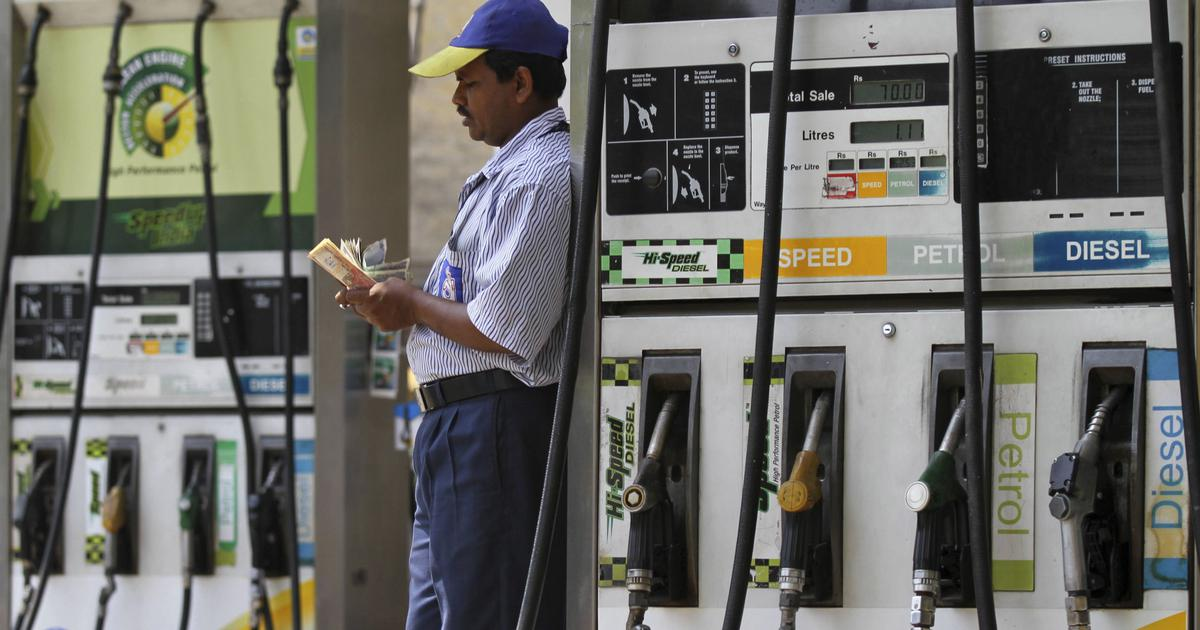 Fuel prices fall for second straight day, petrol cheaper by 24 paise in Delhi