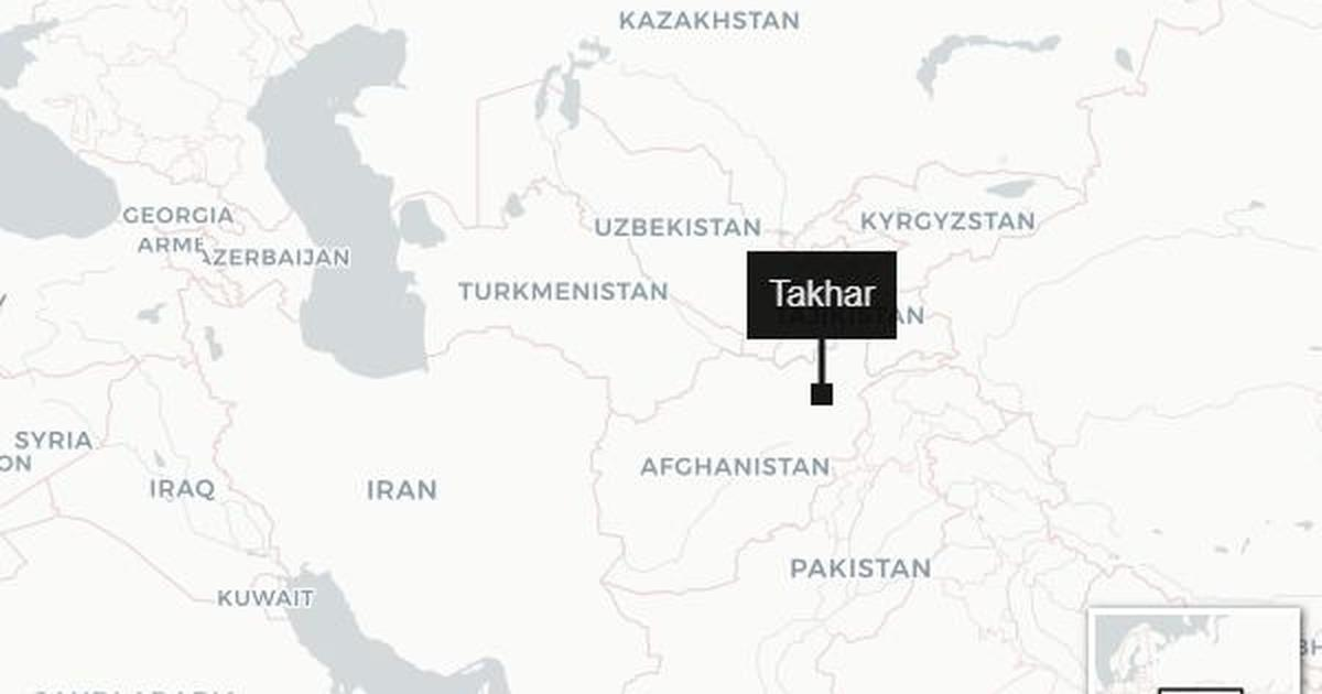 Afghanistan: At least 12 killed in blast at election rally in Takhar