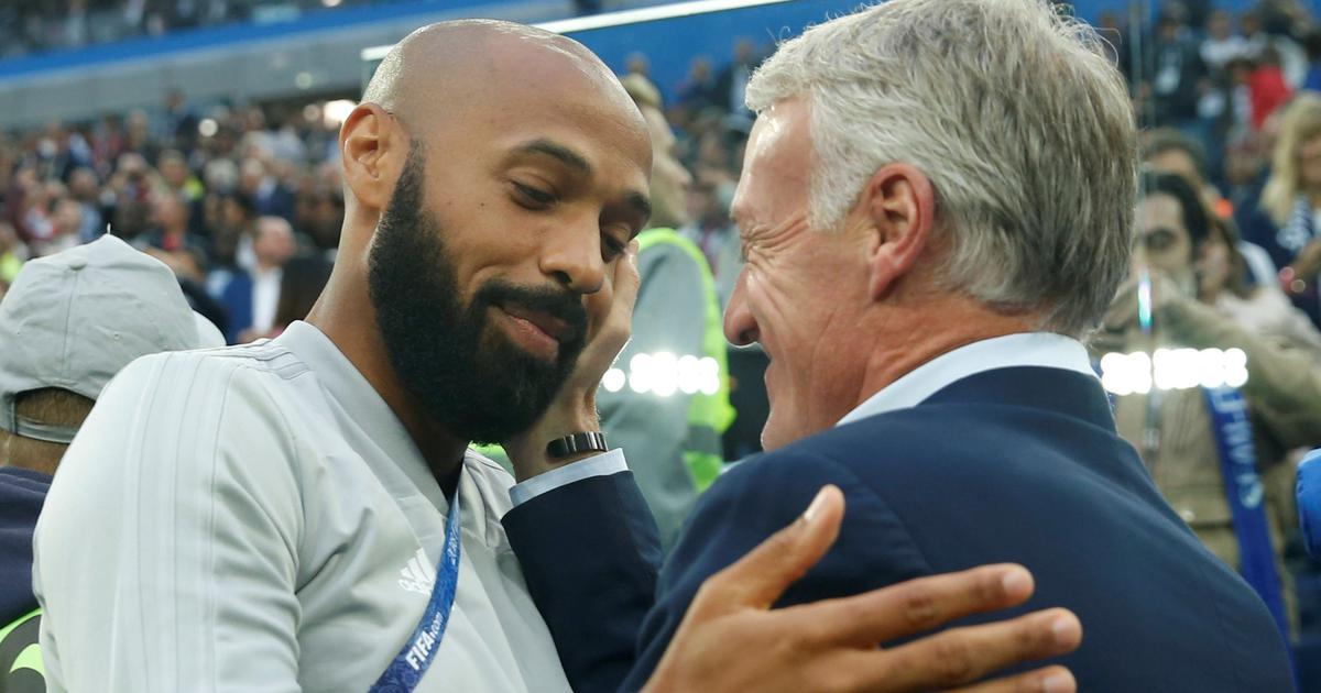 He has everything  Didier Deschamps backs Thierry Henry to come good as  Monaco manager 3caebf97e15c