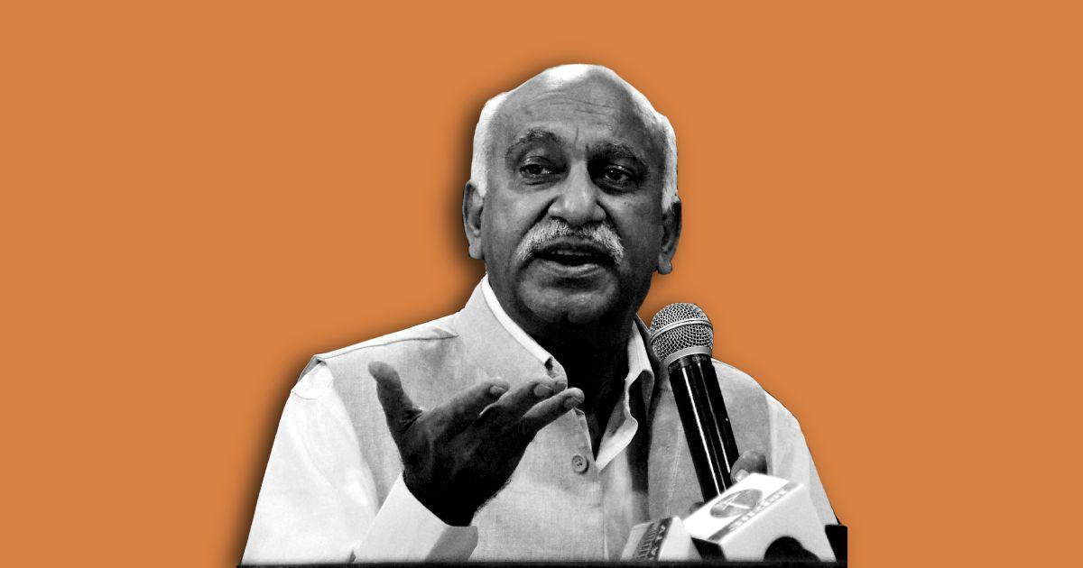 MJ Akbar, stop with the lying. You sexually harassed me too. Your threats will not silence us
