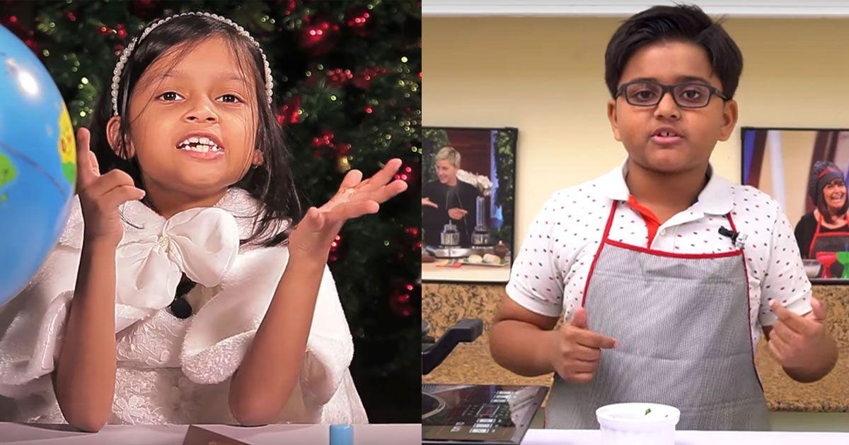 On Children's Day, meet India's young YouTubers who are gaining fans and earning lakhs of rupees