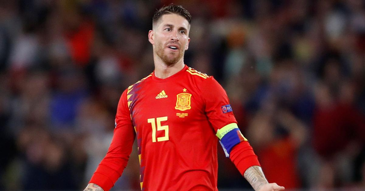 Not the ideal moment: Sergio Ramos says Spain can play in Barcelona once political tensions end
