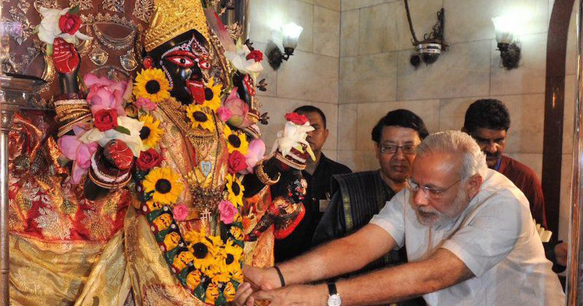 'At least know your gods': Twitter users call out Modi for referring to goddess Kali as Durga