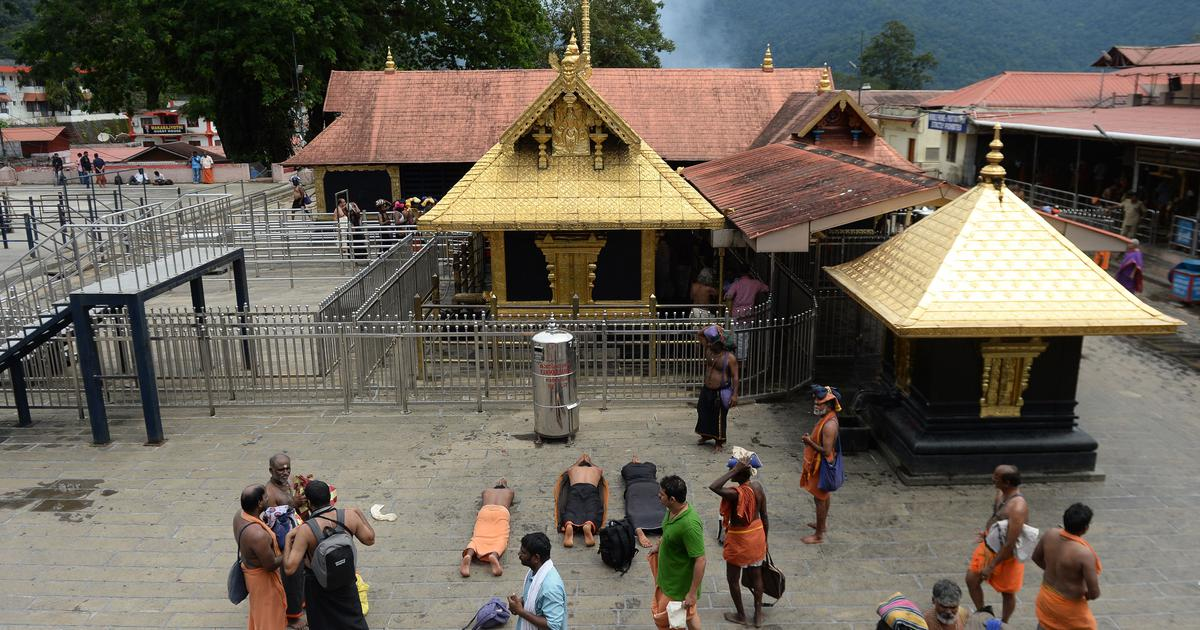 Sabarimala row: Prohibitory orders imposed in four areas near temple ahead of its reopening