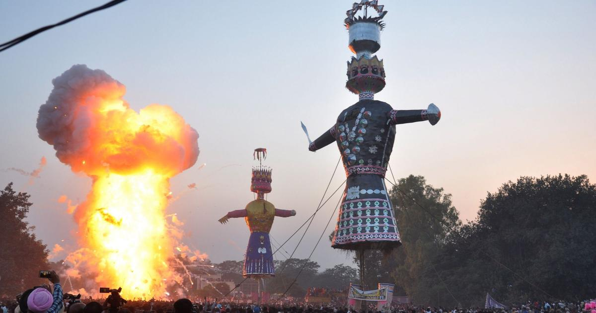 Dusshera or Vijayadashami to be celebrated on October 8th in 2019