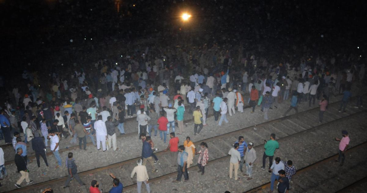 Punjab: At least 58 killed as train hits crowd standing on track celebrating Dussehra in Amritsar