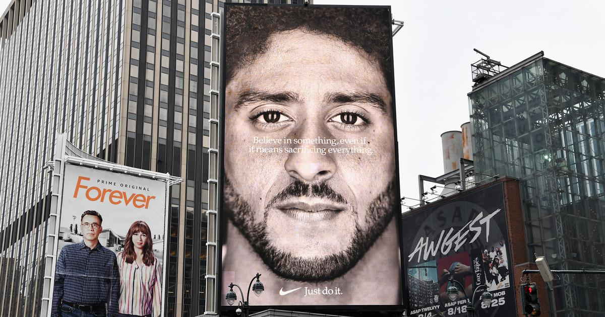 Are Nike and Puma being hypocritical by putting out ads against racism to make money?