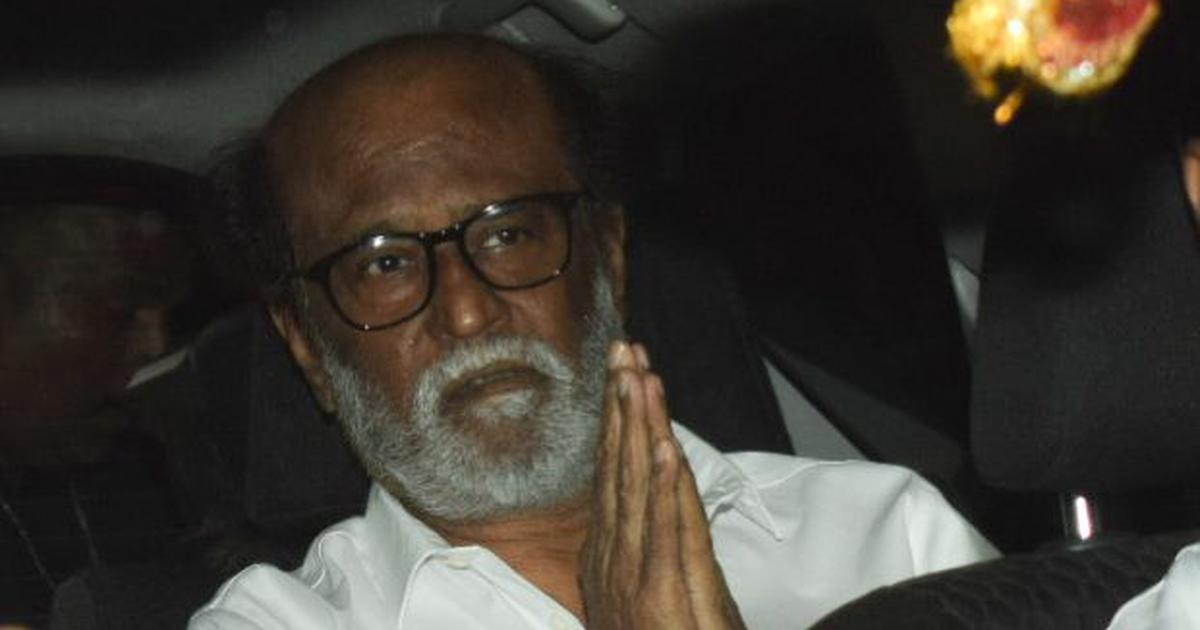 Complaint filed against Rajinikanth for his remarks on Periyar