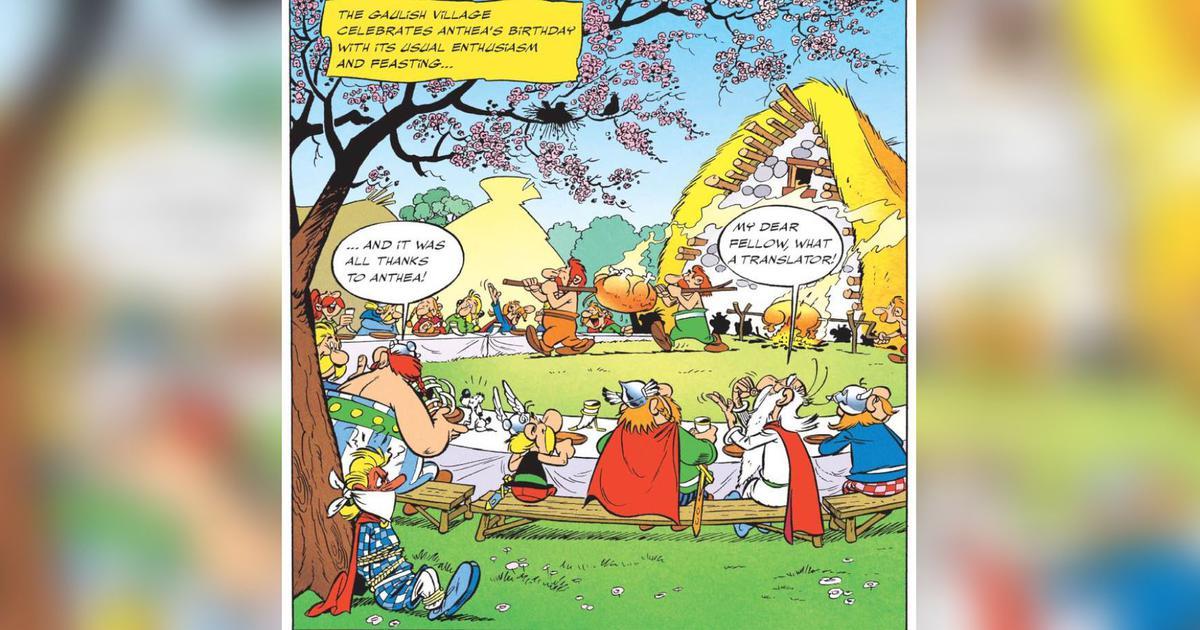Translating Asterix jokes and puns: The genius of Anthea Bell (and Derek Hockridge)