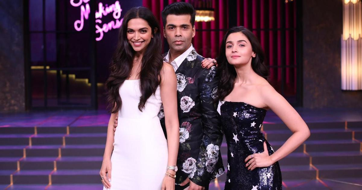 Nepotism, Deepika-Ranveer wedding and more in 'Koffee With Karan' season premiere