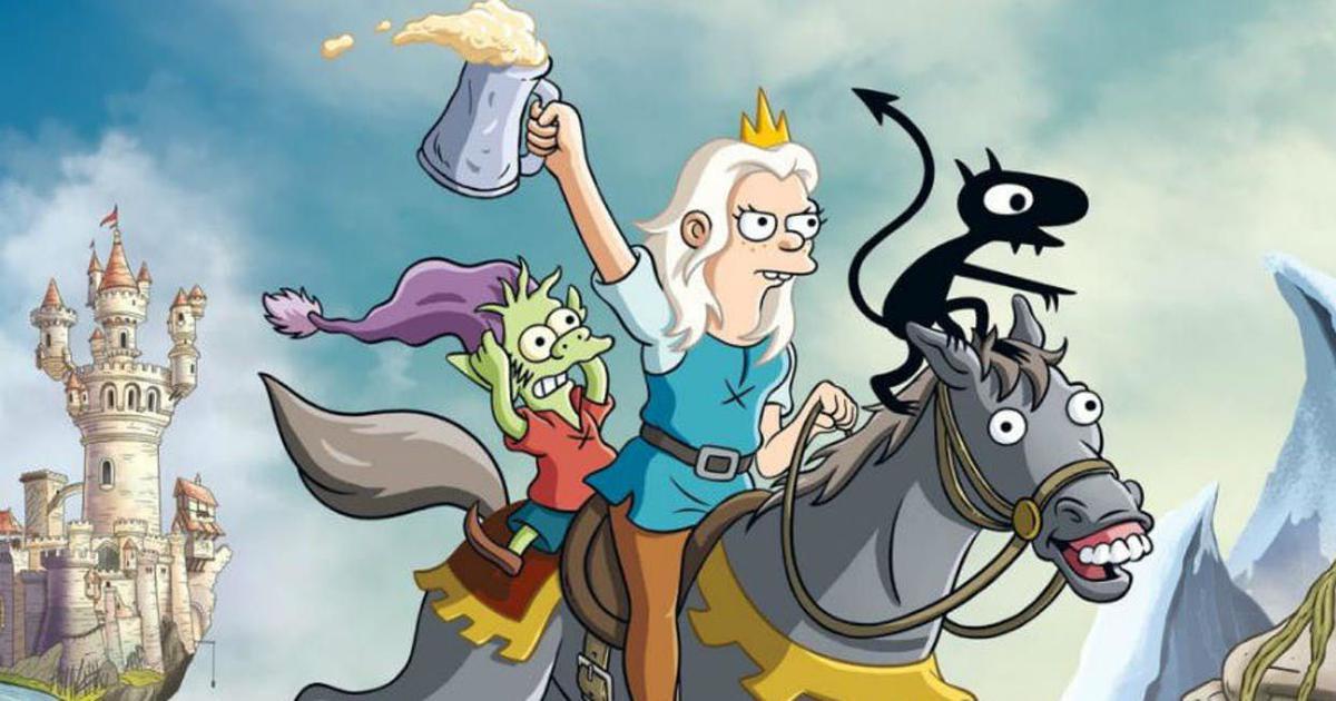 Netflix renews Matt Groening's animated series 'Disenchantment' for 20 more episodes
