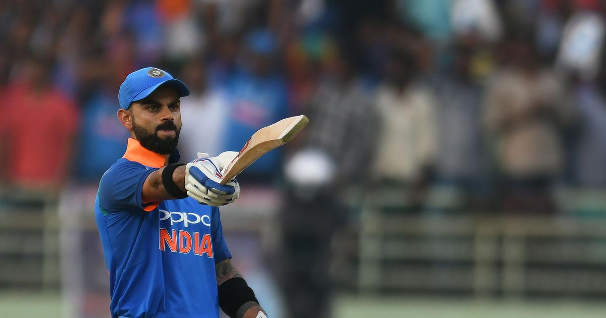 Nagpur ODI: Virat Kohli's masterful 40th century takes India to 250 against Australia