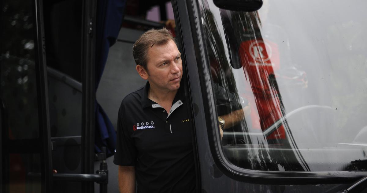 eec1fb5a8 Lance Armstrong s former manager banned from cycling for life by CAS. Johan  Bruyneel ...