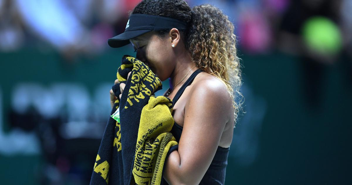 US Open champion Naomi Osaka retires from WTA Finals in tears