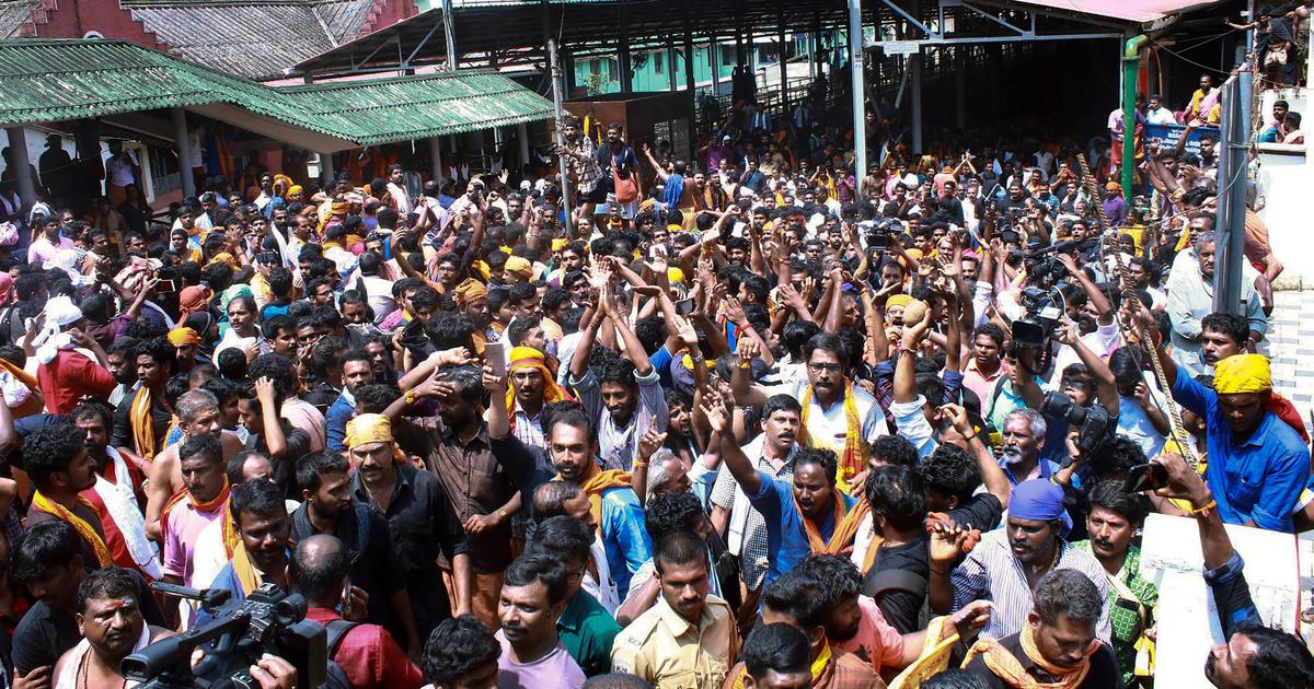 Sabarimala row: Man dies after he sets himself on fire in front of BJP protest site in Kerala