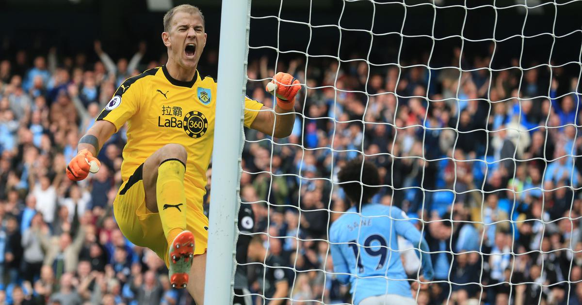 Football: Joe Hart hopes that Burnley form will earn him an England recall