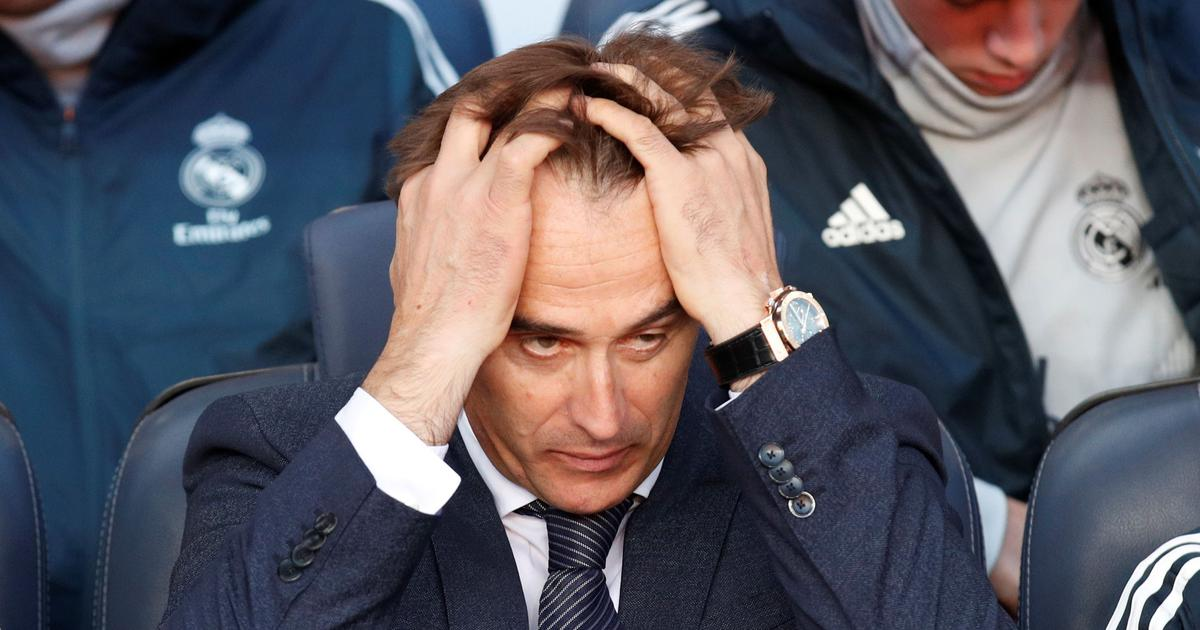 Julen Lopetegui finally gets the sack, 139 days after taking charge of Real Madrid