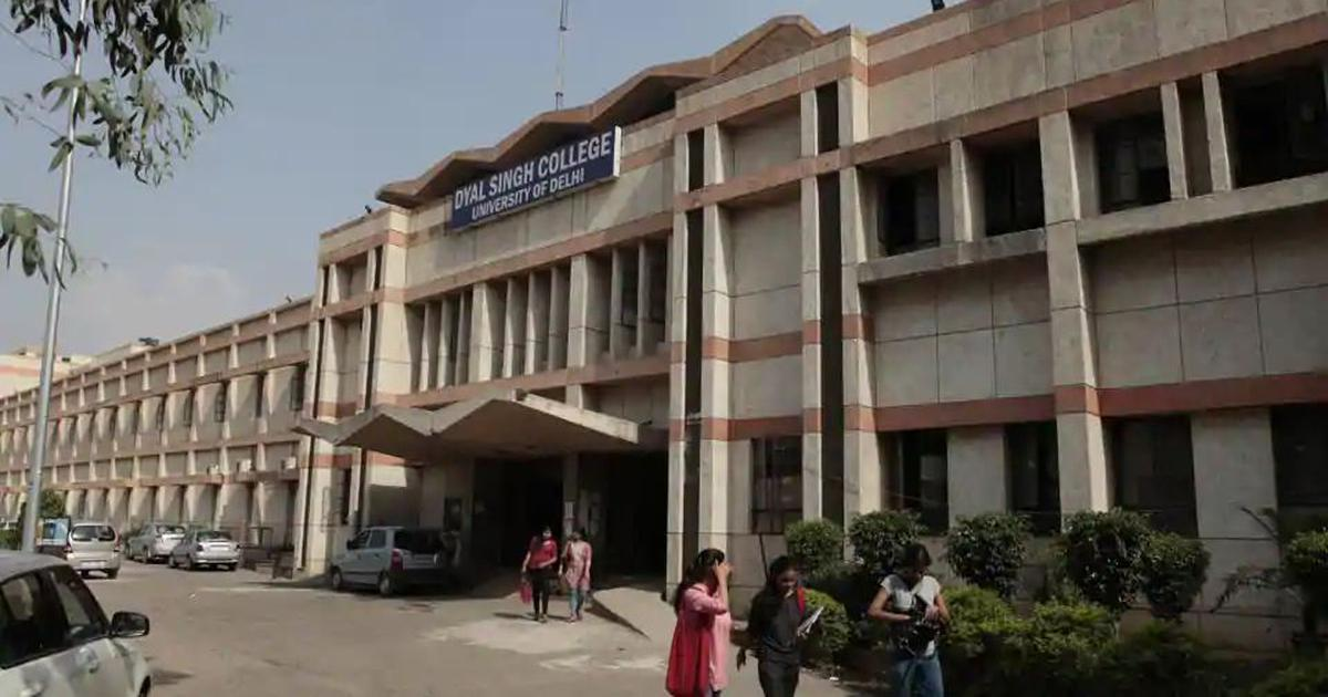 Delhi: Dyal Singh College teachers demand removal of governing body chairperson