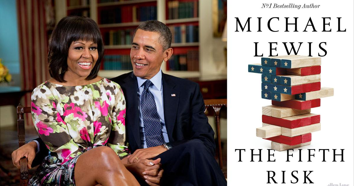 The Obamas acquire Michael Lewis's 'The Fifth Risk' to examine possible series for Netflix: Report