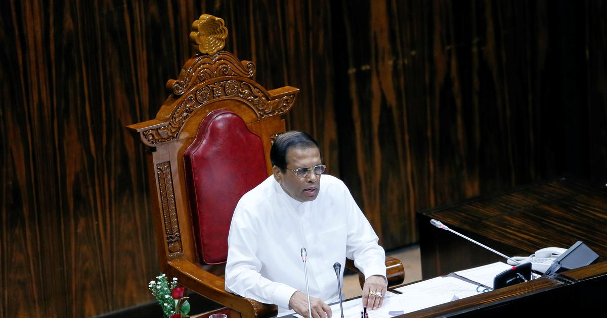 Sri Lankan President Maithripala Sirisena's party quits coalition government: Minister