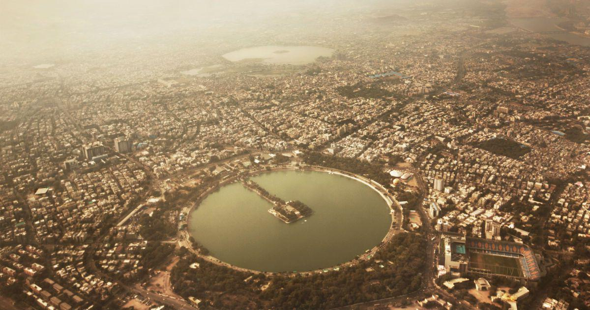 From the skies, an architect retraces a century-old survey of Ahmedabad's City Walls