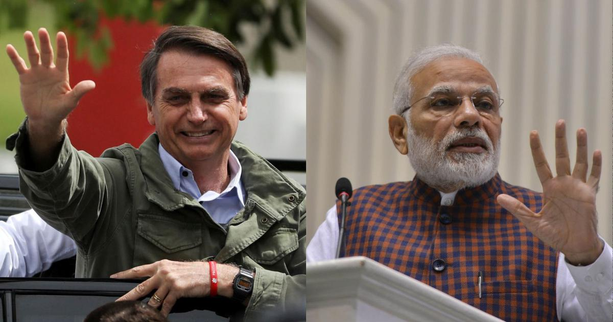 As Brazil's Bolsonaro meets India's Modi, which strongman is a greater threat to democracy?