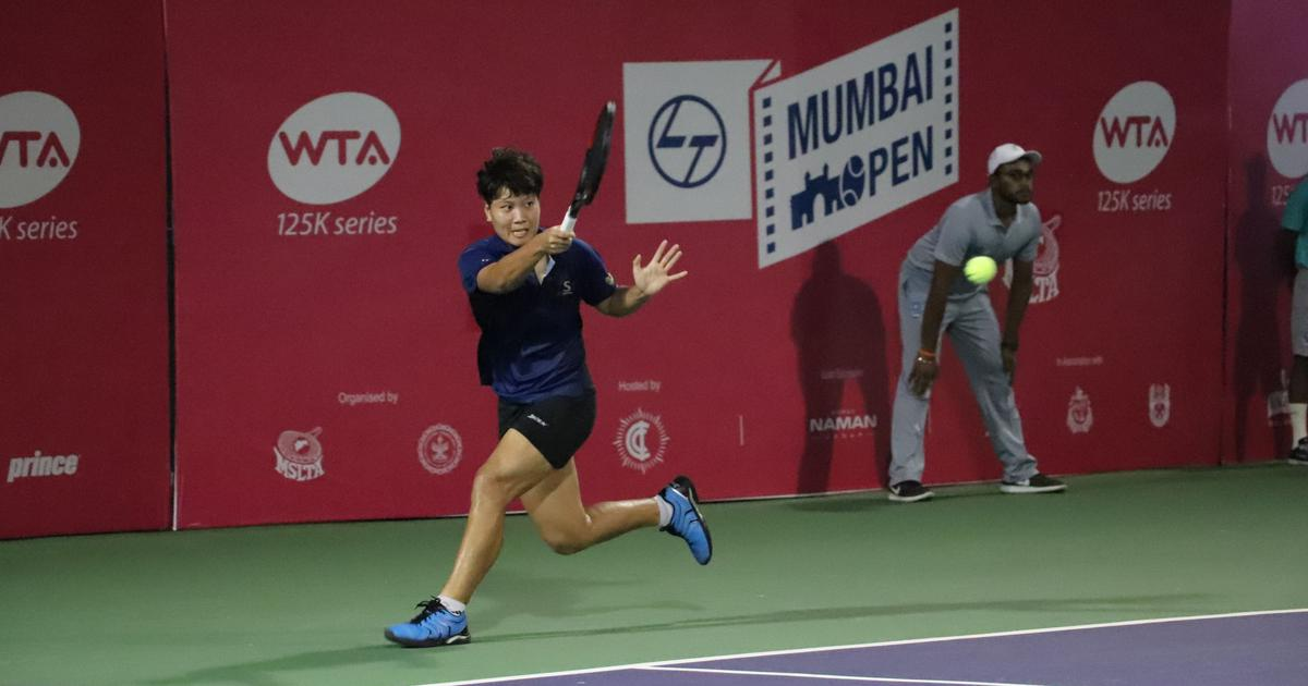 Mumbai Open: Thailand's Luksika Kumkhum storms into her first career WTA final