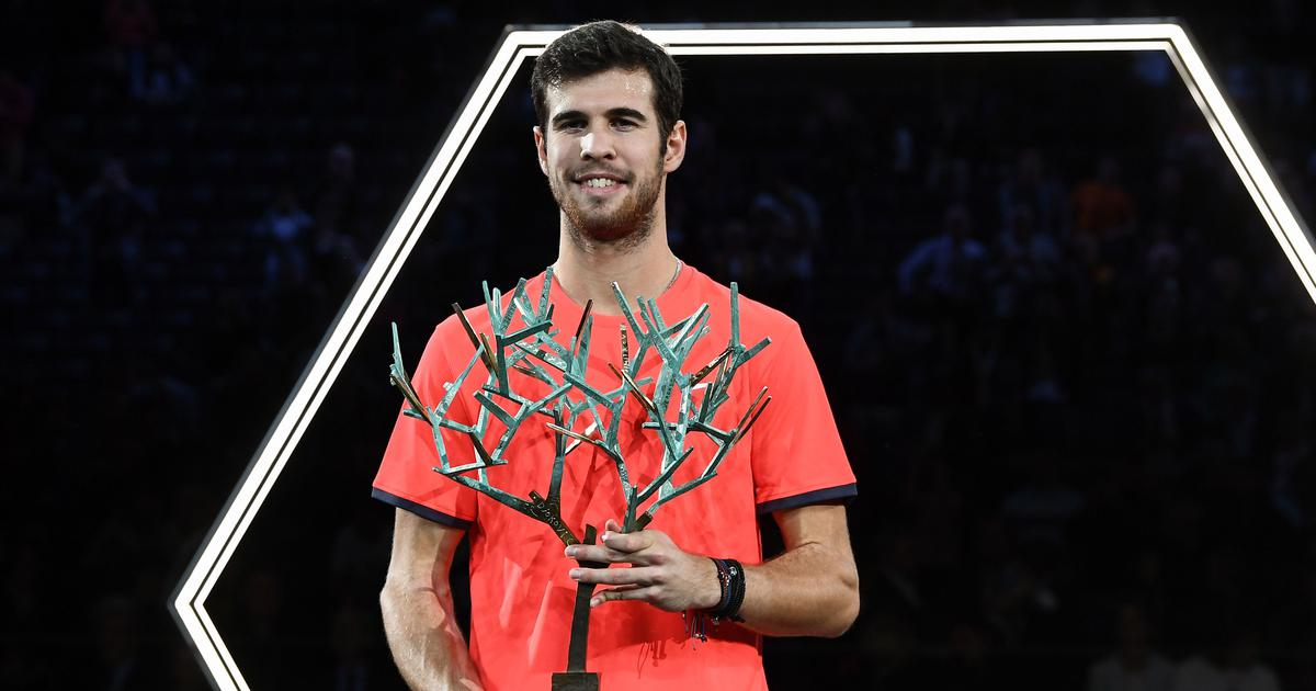 Novak Djokovic stunned by unseeded Karen Khachanov in Paris Masters final