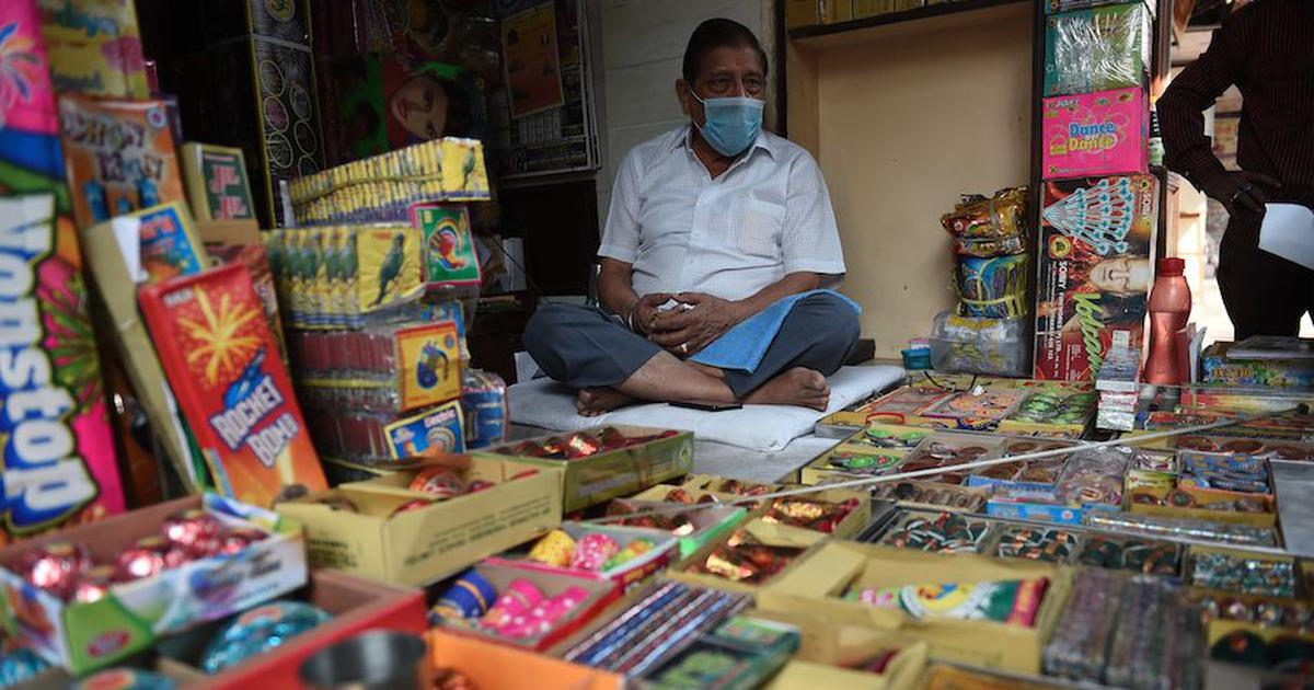 Coronavirus: Delhi government bans firecrackers amid rise in cases