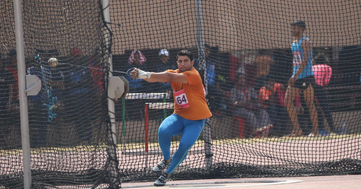 Nitesh Poonia, the fourth best U20 hammer thrower in the world, has his sights set on bigger glory