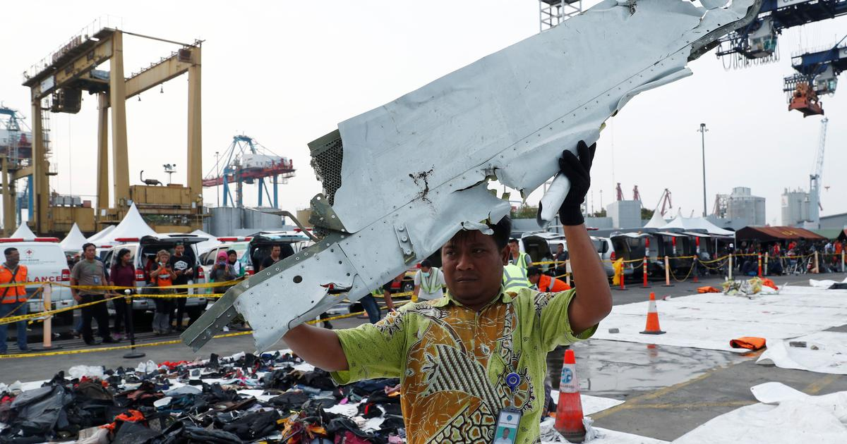 Lion Air crash Black box reveals plane had airspeed problems on final four flights