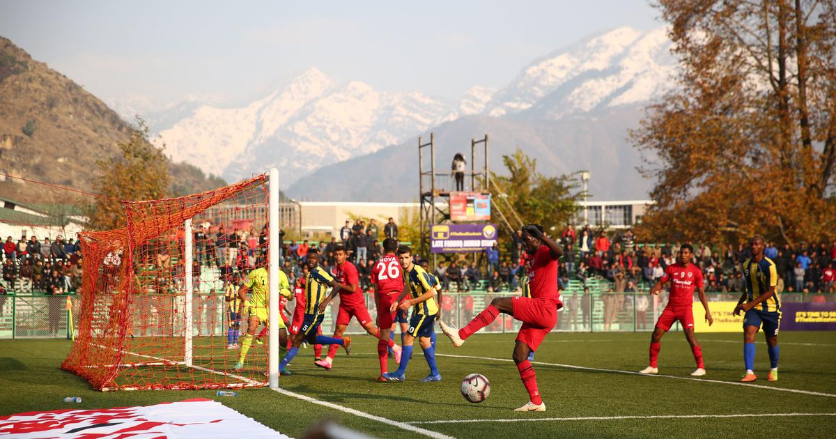 For the people of J&K, Real Kashmir's home debut is a turning point for football in the state