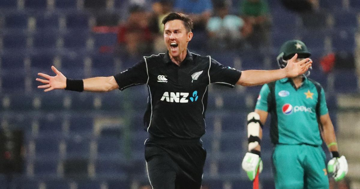 Watch: Trent Boult rocks Pakistan's top order to register New Zealand's third ODI hat-trick