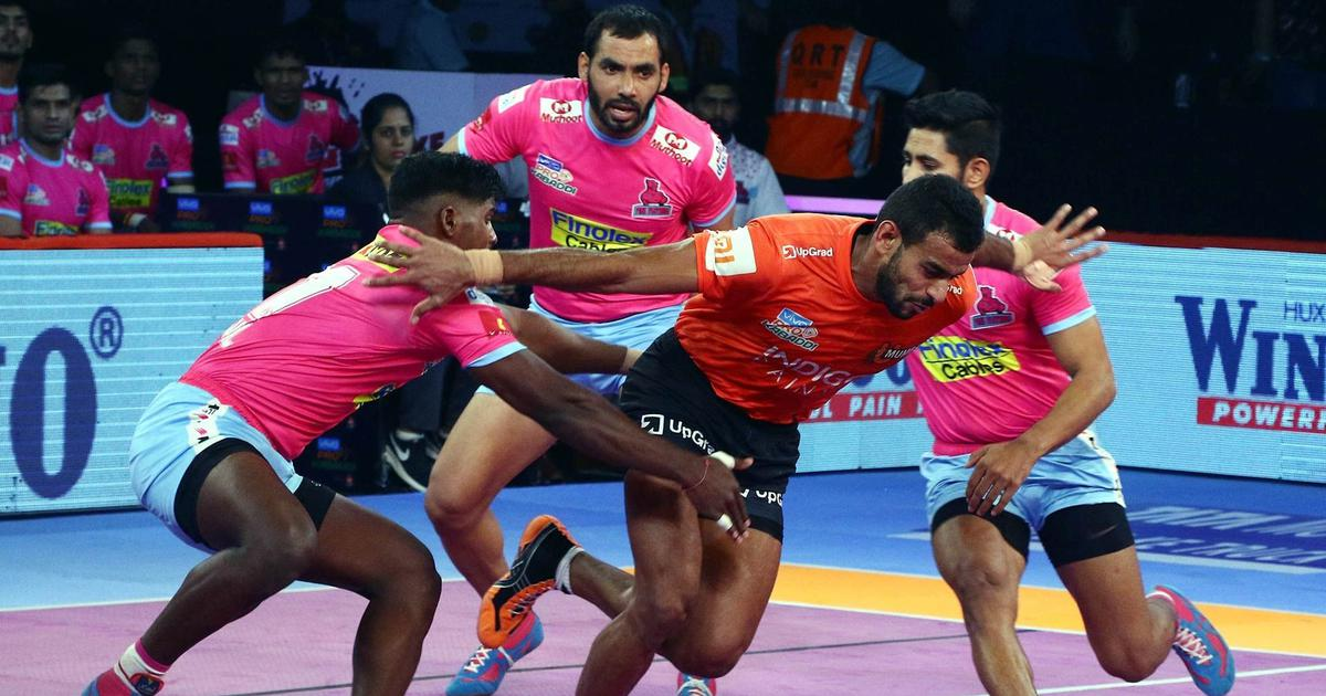 PKL: U Mumba move to top of Zone A with thumping 48-24 win over Jaipur Pink Panthers