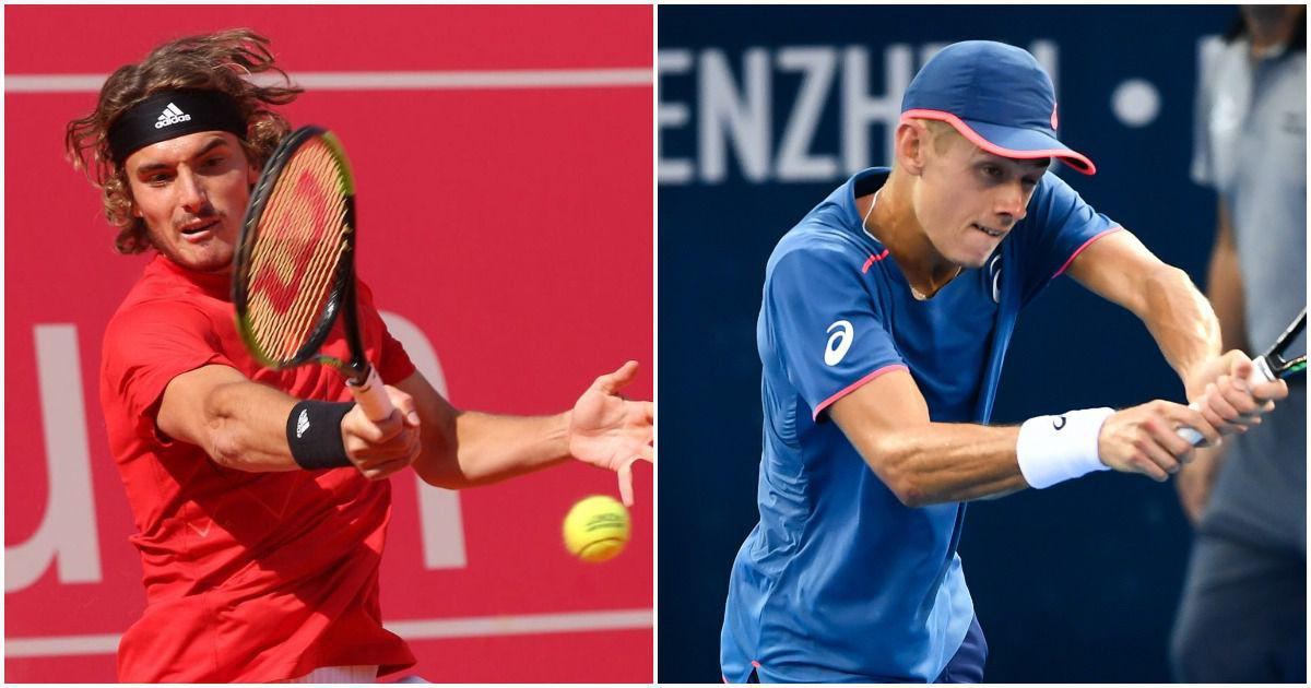 Tennis: Stefanos Tsitsipas and teenager Alex de Minaur set up Next Gen ATP Finals championship match