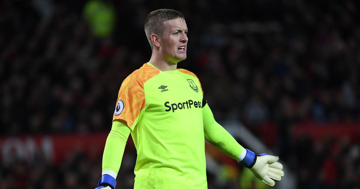 Premier League: Jordan Pickford heroics hold Chelsea to goal-less draw against Everton