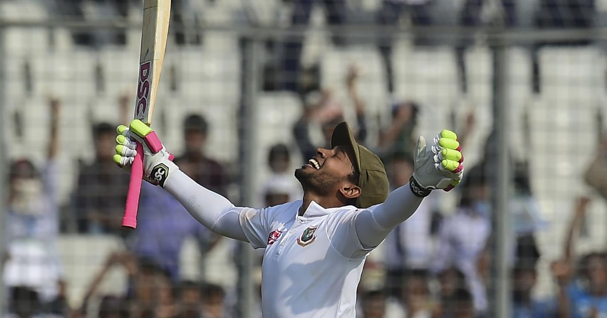 Second Test: Mushfiqur Rahim's record-breaking double ton puts Bangladesh on top against Zimbabwe