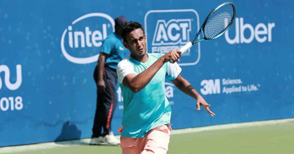 Chennai Open tennis: Sasi Kumar Mukund thumps Sebastian Fanselow, Sumit Nagal exits