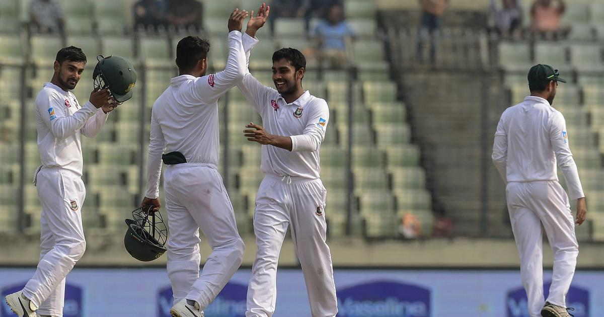Taylor's fighting century goes in vain as Bangladesh defeat Zimbabwe by 218 runs to level series