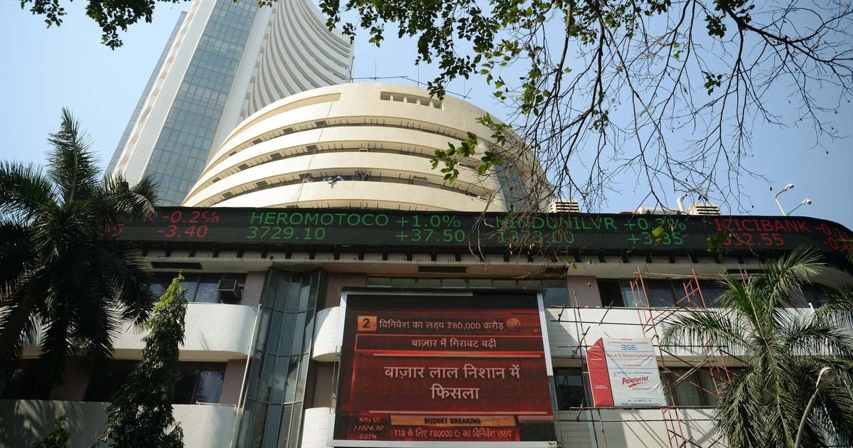 Sensex sheds 250 points as RBI keeps interest rates unchanged