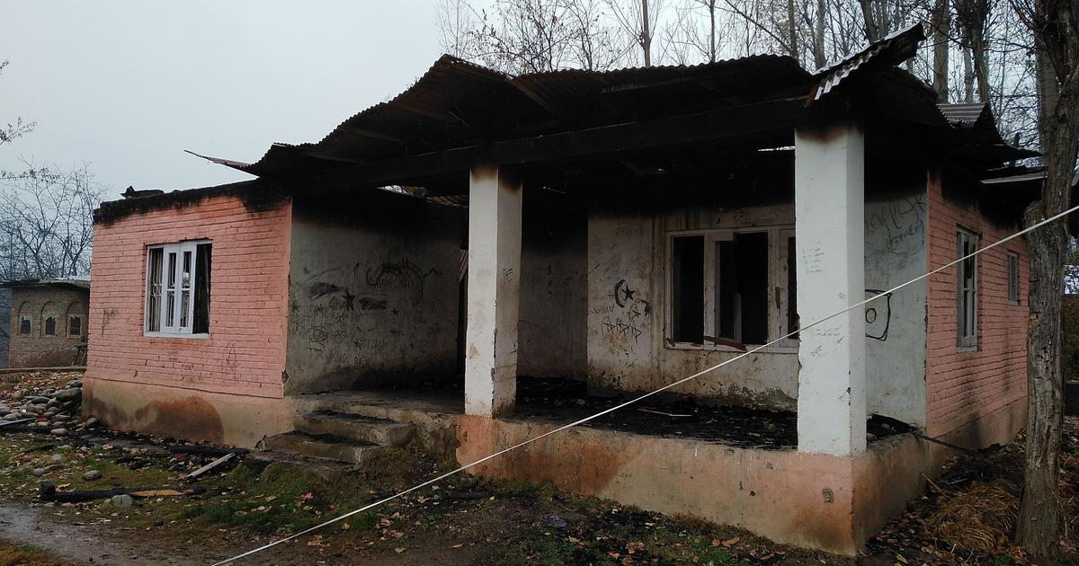 'It's a mystery': Who is burning down panchayat houses in Kashmir?