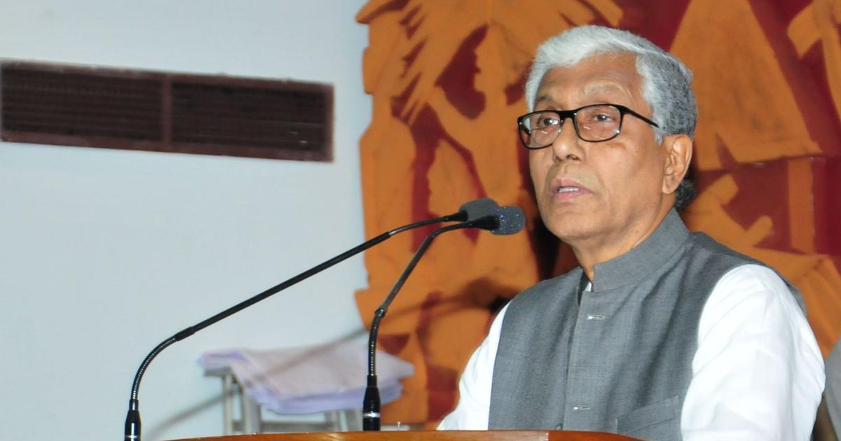 Tripura: Former Chief Minister Manik Sarkar's convoy attacked, CPI(M) blames 'BJP-backed hooligans'