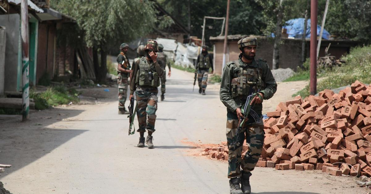 J&K: Four suspected militants killed in gunfight with security forces in Shopian district