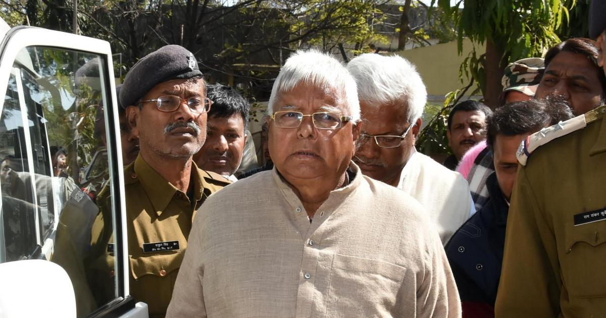IRCTC scam: Court adjourns hearing to December, asks Lalu Prasad to appear via videoconferencing
