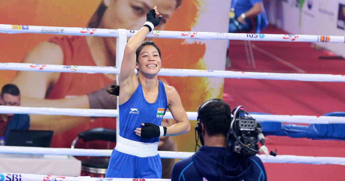 Pause, rewind, play: Mary Kom becomes first woman to win six World Championship gold medals