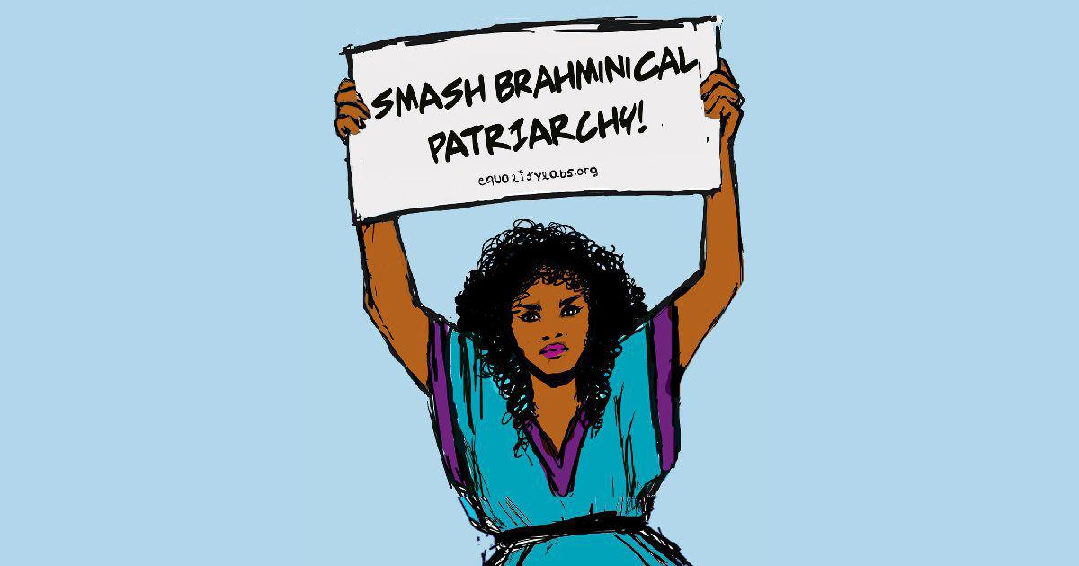 'Describing a system of oppression is not a slur': Creator of 'Smash Brahmanical patriarchy' poster