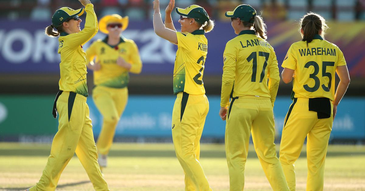 Australia rout defending champs West Indies to reach their fifth straight World T20 final